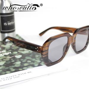 OMS CUTIE la vendimia de la concha gafas de sol de las mujeres 2020 del marco del diseño de marca grueso leopardo rosado retro Claro Gafas de sol Mujer S175 1006