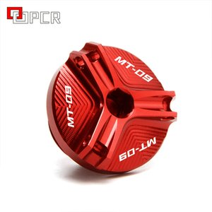 For Yamaha MT09 MT 09 TRACER FZ09 M2.0*2.5 Motorcycle Aluminum Oil Filler Cap Plug cover with mt-09 logo