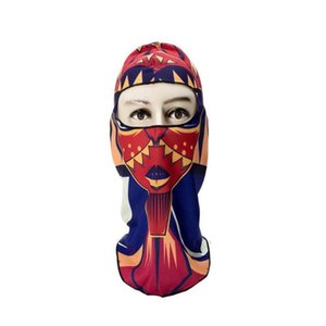 Skiing Printed Windshield Warm Head Mask Ghost Outdoor Thermal Riding Series Climbing Items Mask Cover 3d Hood Hot jlldq hairjersey