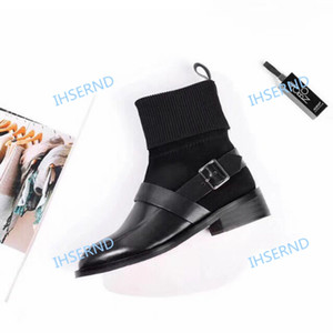 2020 women's short boots come with socks and boots college girl style classic wild trend modern spring