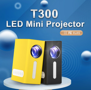 New T300 mini projector kids projector conventional projector 1080P 100inch screen Support HDMI USB SD Home Media Player