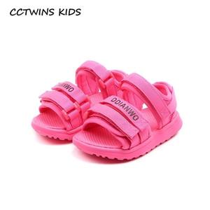 CCTWINS Детская обувь 2020 лето Малыши марка Повседневная обувь Детская Мода Пляж сандалии ребёнки Black Flat Мальчики BS546