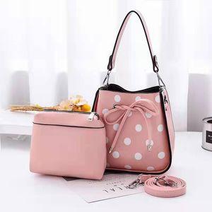SMOOZA women Messenger bag small bags Wave point design Clip girls Shoulder Bag PU leather Female Phone Purse Bolsas wallet