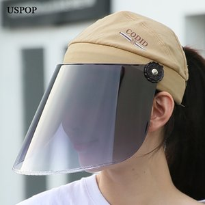 USPOP New Sun Sun Hats UPF50 + Солнцезащитный крем HAST Professional Anti UV Rays Hats PC Lens Hat T200605