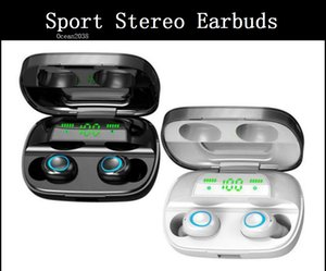 Bluetooth Earbuds TWS Wireless Earphone Noise Reduction Gaming Music Headset Running Sport Stereo Earbuds With Charging Case