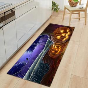 Cadılar Bayramı Desen Mutfak Mat Yatak Giriş Paspas Koridor zemin Dekorasyon Mat Salon Halı Ev Banyo Fanila Kilim