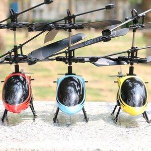 Niños Plane Aircraft USB cargo Control remoto Juguete Niños 2CH RC Helicóptero Control remoto Drone Volar Toys Boy Regalo