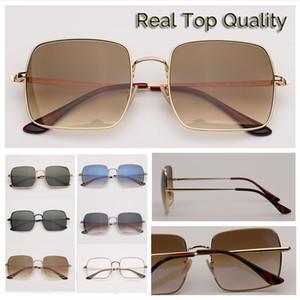 sunglasses fashion sunglasses high quality square sun glasses for mens men women womens UV400 lentes des lunettes de soleil pour hommes