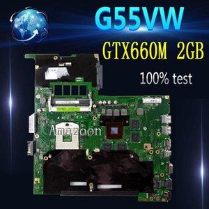 Amazoon G55VW Laptop Motherboard GTX660M 2GB pour Test G55VW G55V Test de la carte mère de carte mère 100% OK