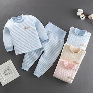 Susirita automne hiver chaud pyjamas enfants manches longues bébé filles vêtement de nuit garçons coton pyjamas set enfants vêtements 201029