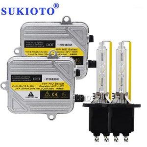 Sukioto 크세논 H7 HID 키트 D2H D2S 55W H1 H8 H4 Xenon 헤드 라이트 H7 H8 H11 H27 HB3 HB4 9005 자동차 라이트 HID 헤드 램프 스타일링 1