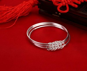 Silver Bracelet luxury Silver For Women Pendant Handmade Silver Bracelets & Bangles