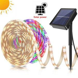 LED Solar Power Strip Light Garden Light DC12V 5m 16.4ft 150 LEDs SMD2835 Diodetape Hohe Qualitätsband Flexible Home Decoating Lights