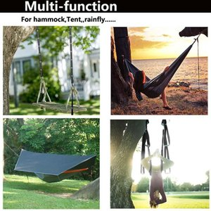 2Pcs 300cm Outdoor Tied Rope Portable Tree Hanging Adjustable Park Yoga Aerial Accessories Hammock Strap Camping Garden Hiking