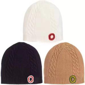 Теплый Beanie Мужчина Женщина черепа Caps теплая осень зима дышащий Монтажн Bucket Hat 3 Цвет крышки Верхнее качество