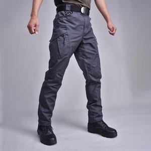 19 Pantalones tácticos Pantalones de carga Hombres Knee Pad Swat Army Color Solid Color Ropa Combate Pantalón Pantalón Woodland
