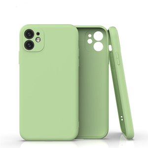 Ultra Slim Candy Phone Case TPU-Abdeckung für iPhone 12 11 PRO MAX XS MAX XR X PLUS HUAWEI P40 P30 Camera Protector