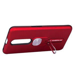 Для VIVO F11 Pro чехол с Finger Ring Phone Stand двухслойный Телефон Корпус Magnetic Маунт автомобиля телефон чехол с Kickstand