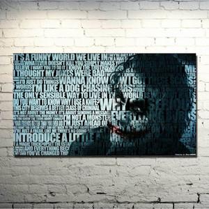 The Dark Knight Rises - Joker Film Oyun Sanat İpek Kumaş Poster Odası Dekor Resimleri 022 nVs3 # için 13x24 24x43 inç yazdır