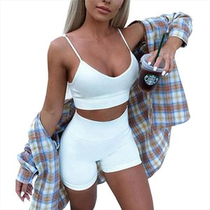 Women tracksuit Set Sexy 2 Piece Outfits Women Bodycon Slim Crop Top and Shorts Set Bandage Skinny Party Clothes