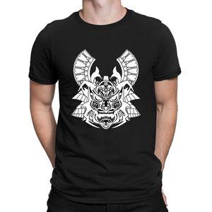 Samurai Pamuk Stil Müthiş Spor Tişört Anlarach Gevşek Erkekler İnce Klasik Yaz Tişört Giyim% 100 Samurai Pamuk Iier yazdır Maske