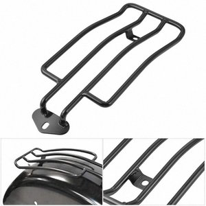 Motorcycle Lage Rack Backrest Support Shelf Fits Rear Solo Seat 280Mm (11 inch) for XL Sportsters 883 XL1200 1985-2003 IPvL#