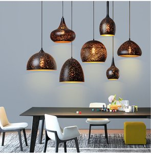 Led Pendant Lights Vintage Indoor Hanging Lamp E27 Loft Dining Room Bar Lighting Kitchen Fixture Modern Pendant Ceiling Lamps