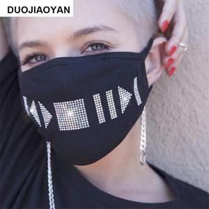 Sparkly Rhinestone Mask Black Bling Crystal Masquerade Ball Party Nightclub Маски для лица для женщин и девочек Ewe2484