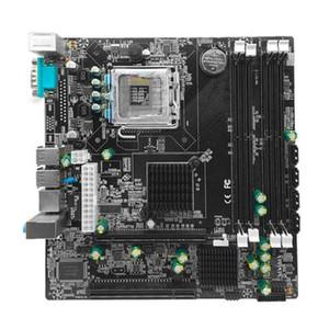 P45 Desktop Motherboard LGA 771 LGA Mainboard 775 à Double DDR3 support L5420 DDR3 USB Carte son réseau SATA IDE