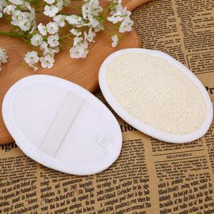 Loofah Pad Natural Loofah Scrubber Remove Dead Skin Loofah Pad Sponge Home Cleaning Tool Body Skin Bathing Massage Tools 8*12cm EWB2089
