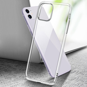 2 Styles Transparent Case For iphone 12 Pro Max XS XR 11 8 7 Plus Clear Soft TPU Cover For iPhone Back Shell