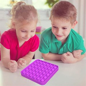 In Stock Decompression Toy Sensory Push Pop Bubble Fidget Sensory Toy Autism Anxiety Stress Reliever for Students Office Workers