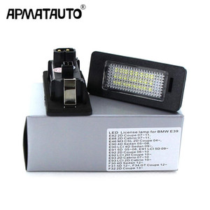 2Pcs Led Number Plate For e60 Number License Plate Light Lamp For E39 M5 E70 E71 X5 X6 E60 M5 E90 E92 E93 M3 525i 530i