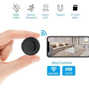 Mini WiFi Camera Wireless HD 1080P Portable Home Security Small Secret IP Cam with Motion Activated hidden Night Vision Espion