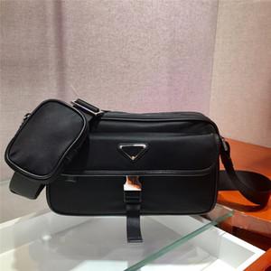 Ücretsiz Kargo Dünya Çapında 25 cm Trendy Moda Çift Tasarım Naylon Tuval Messenger Çanta Omuz Çantası Messenger Çanta