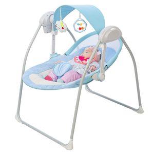 Cuna cuna bebé mecedora silla eléctrica cuna pacificante niño chupidera coctelero nacido