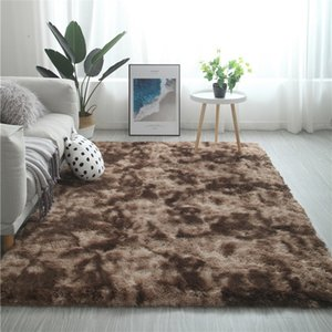 Nordic Ins Carpet Inspired Bedside Blanket Mat Large Area buffalo check decor big rug for living room turkish carpet pink rug Y0105