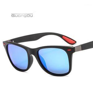 2020 New Brand Design Classic Polarized Sunglasses Men Women Vintage Driving Goggle Square Sun Glasses Male UV400 Gafas De So1