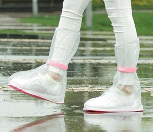 Fashion Hot Outdoor Long Style Raincoat Set Cycle Rain Boots Overshoes Rainboots Travel Essentials High Quality Waterproof Rain Shoes Cover