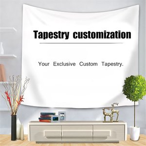 Customized Tapestry 3D Digital Printing Tapestry Customized Lanyard to Map Home Decoration Tapestry Background Wall Covering