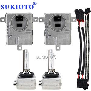 SUKIOTO 55W D1S Xenon HID Kit D3S Canbus Ballast Kit HID Lights D3S 4300K 5000K D1S d1r 6000K 8000K xenon bulb Headlight