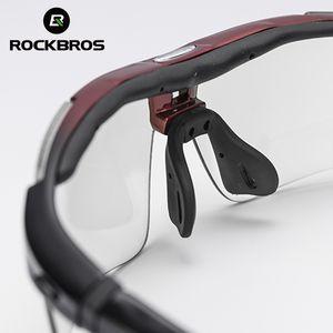 RockBros Велоспорт Открытые очки Солнцезащитные очки Спортивные очки Велосипед Поляризованные Регулируемые велосипедные очки Солнцезащитные очки PTTGI