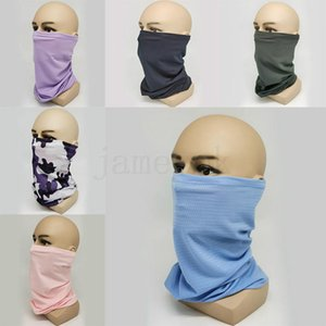 Ice Silk Magic Headscarf Riding Multi-Function Neck Mask Anti Dust Bandana Sunscreen Quick Dry Fishing Mask DA407