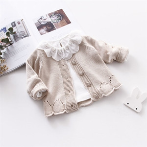 Toddler Wool Coats New Toddler Girl Winter Clothes Baby Cute Long Sleeve Knitting Coats Kids New Fashion Jackets Wool Coat LJ200828