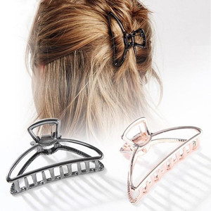 Elegant Hair Accessories for Women Luxury Claws Hair Crab Clamp Hairgrip Plastic Hair Clip Claw Hairdressing Tool
