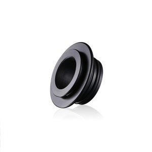 Black Resin 810 to 510 Drip Tip Adapter for E Cigarette 810 Thread RTA RDTA Atomizer Vaporizer TFV8 Big Baby Tank DHL Free