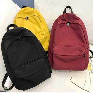 Designer- Nylon Women Backpack Solid Color Preppy Backpacks Mochila Leisure Waterproof Travel bag Teenage Girls Book Schoolbag