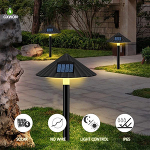2pcs Solar Garden Light LED Solar Powered Mushroom Lamp Lanterns Waterproof Outdoor Landscape Lighting For Pathway Patio Yard Lawn