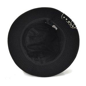 Cokk Cappello Bucket Hats Hip Hop per gli uomini donne Pin Anelli unisex Pesca Cappello Cokk benna Swy bbydrB bdehome