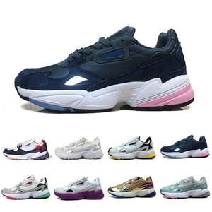 2020 Falcon W Zapatillas para mujer para hombres Hombres de alta calidad Black White Designer Deportes Sneakers Originales Jogging Outdoors 36-45